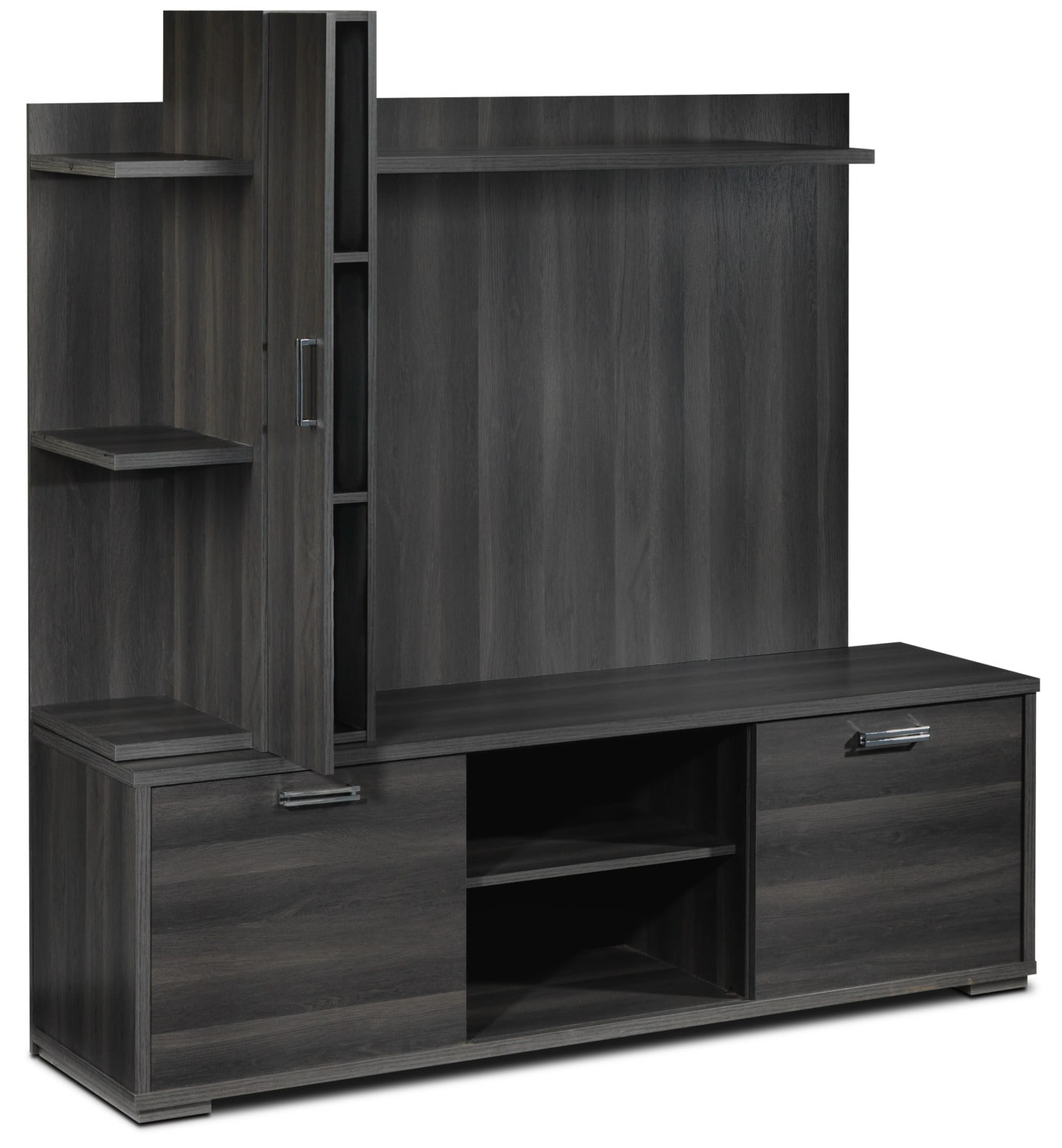 Maris 3-Piece Entertainment Wall Unit - Grey