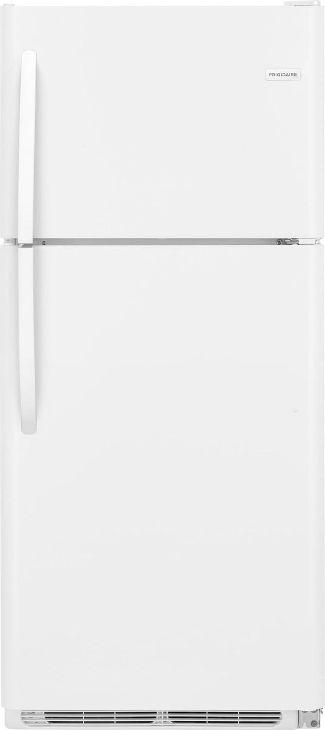 Frigidaire White Top-Freezer Refrigerator (20 Cu. Ft.) - FFTR2021TW