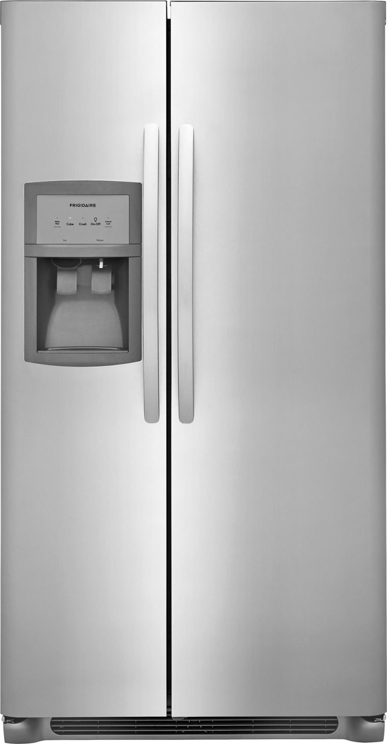 Frigidaire Stainless Steel Side-by-Side Refrigerator (22.1 Cu. Ft.) - FFSS2325TS