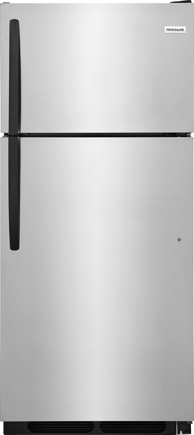 Frigidaire Stainless Steel Top-Freezer Refrigerator (16 Cu. Ft.) - FFHT1621TS