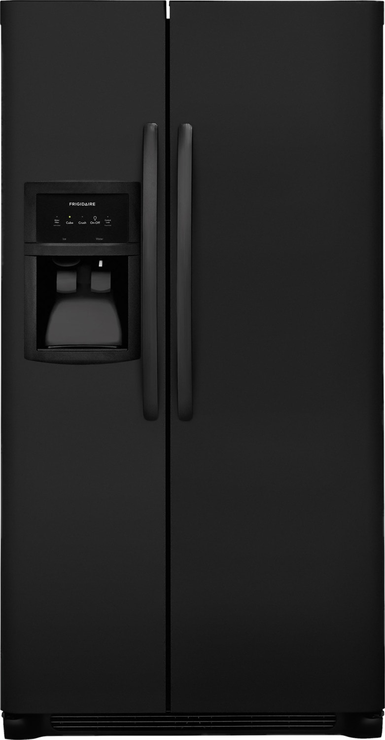 Frigidaire Black Side-by-Side Refrigerator (22.1 Cu. Ft.) - FFSS2325TE