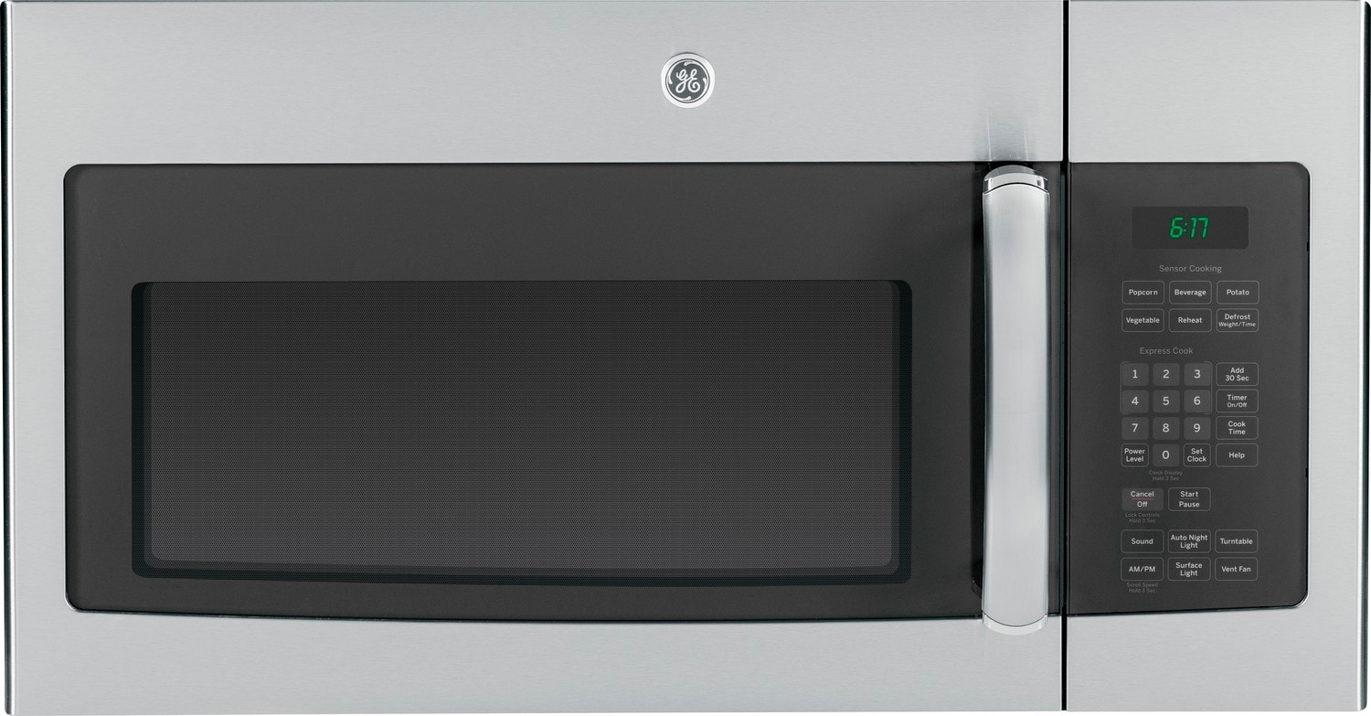 GE Stainless Steel Over-the-Range Microwave (1.6 Cu. Ft.) - JVM1635SFC