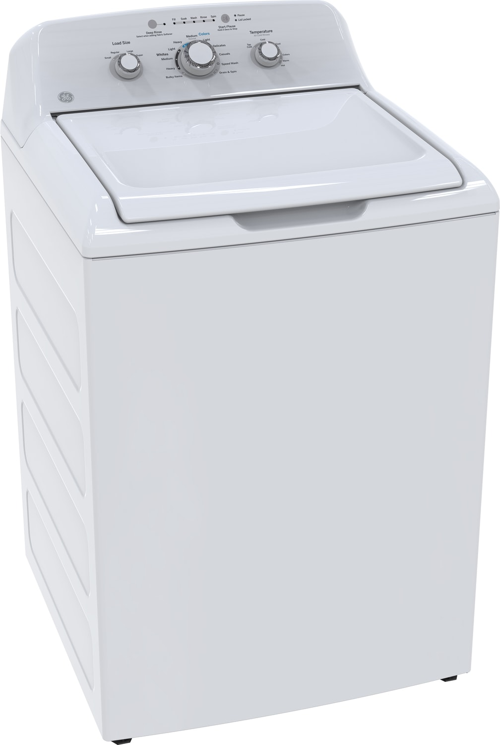 GE White Top-Load Washer (4.4 Cu. Ft. IEC) - GTW330BMKWW