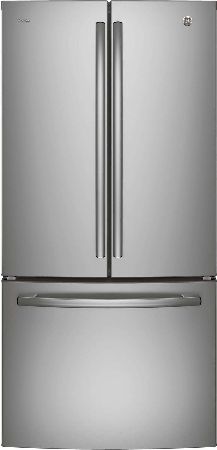 GE Profile Stainless Steel French Door Bottom-Freezer Refrigerator (24.8 Cu. Ft.) - PNE25JSKSS