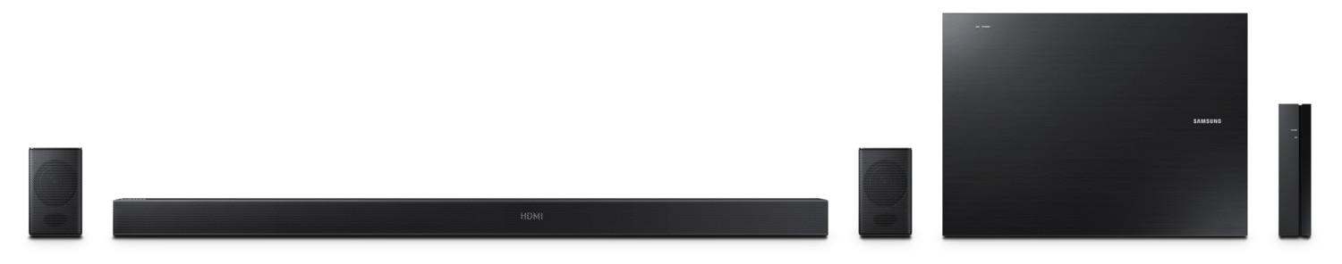 Samsung 5.1-Ch 460W Sound Bar with Wireless Active Subwoofer/Wireless Rear Speakers - HW-KM57C