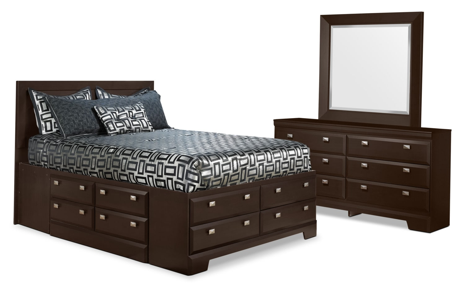 Yorkdale 5-Piece Queen Storage Bedroom Package