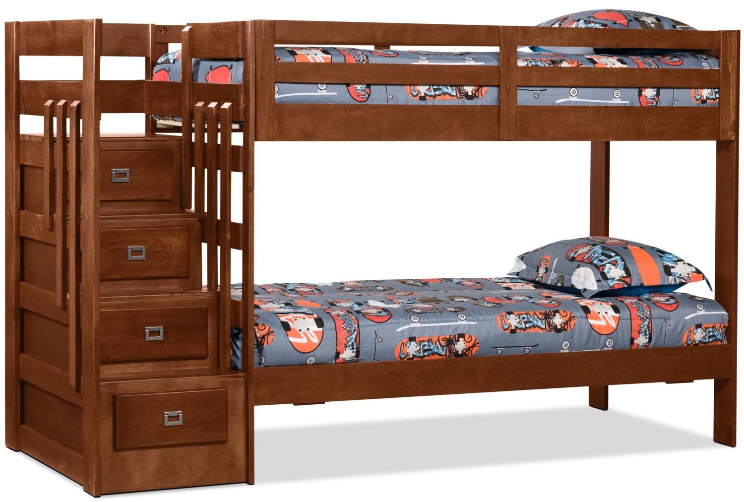 Kids Furniture - Berkeley Staircase Bunk Bed