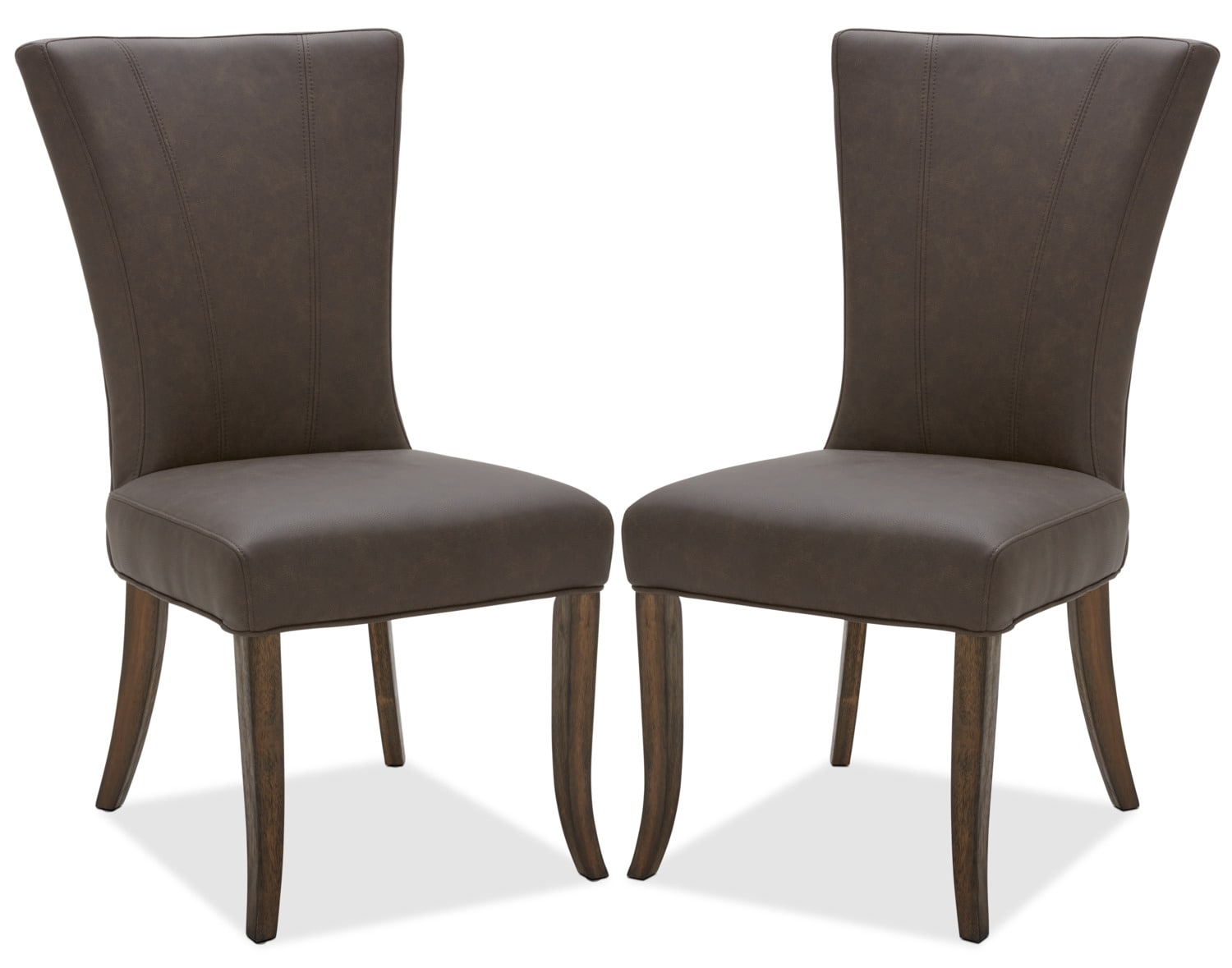 Bree Dining Chair, Set of 2 – Brown