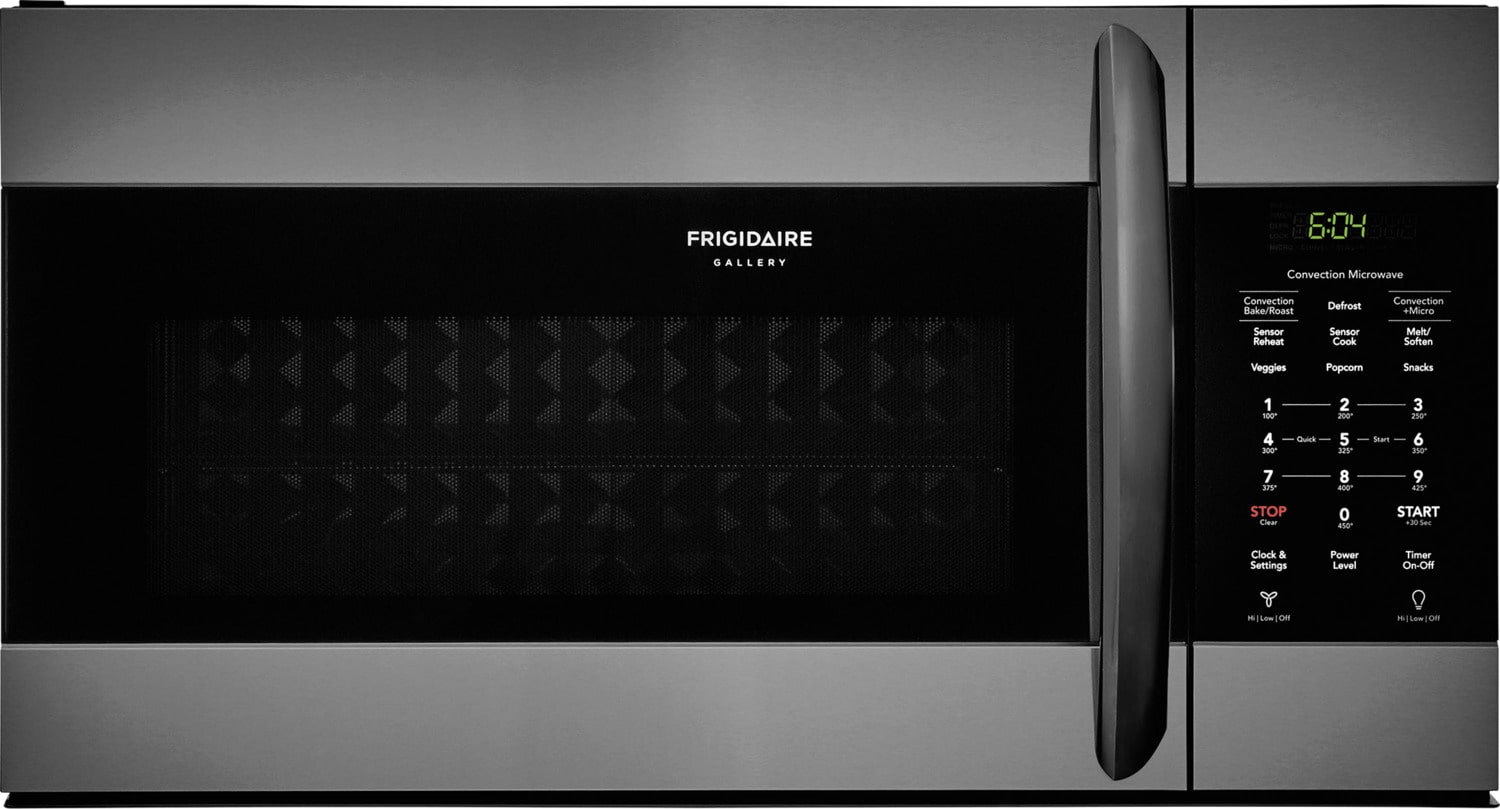 Frigidaire Gallery Black Stainless Steel Over-the-Range Microwave (1.5 Cu. Ft.) - FGMV155CTD