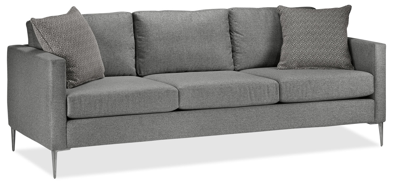 Orly Sofa - Silver