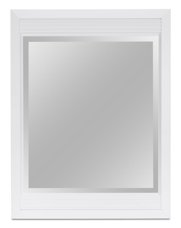 Olivia Mirror – White