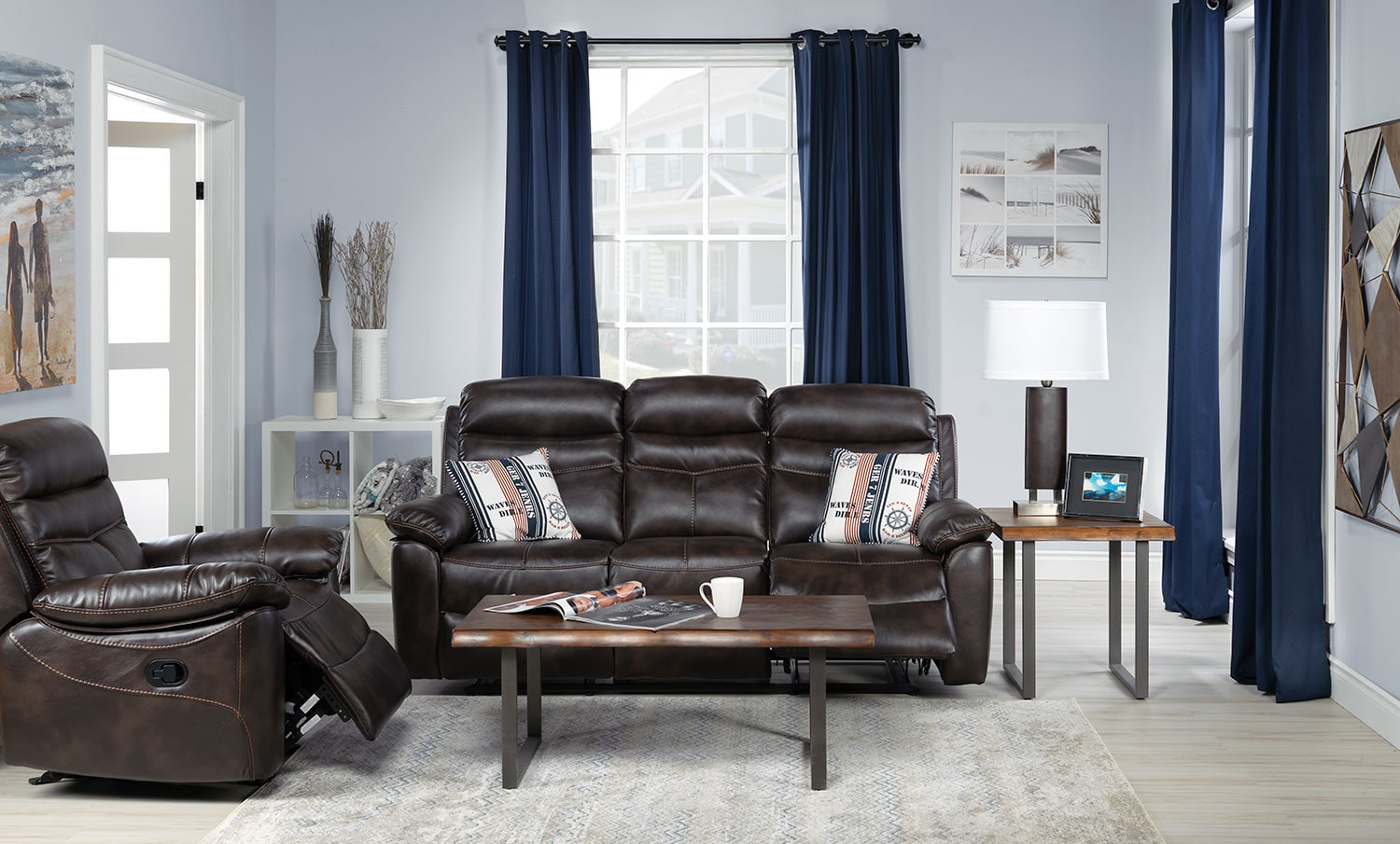 The Devon Collection - Brown