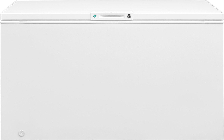Frigidaire White Manual Defrost Chest Freezer (14.8 Cu. Ft.) - FFFC13M4TW
