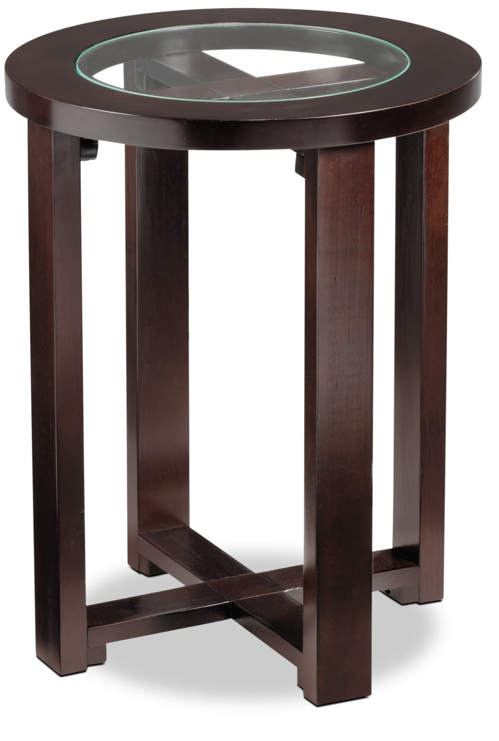 Accent and Occasional Furniture - Emma End Table - Espresso