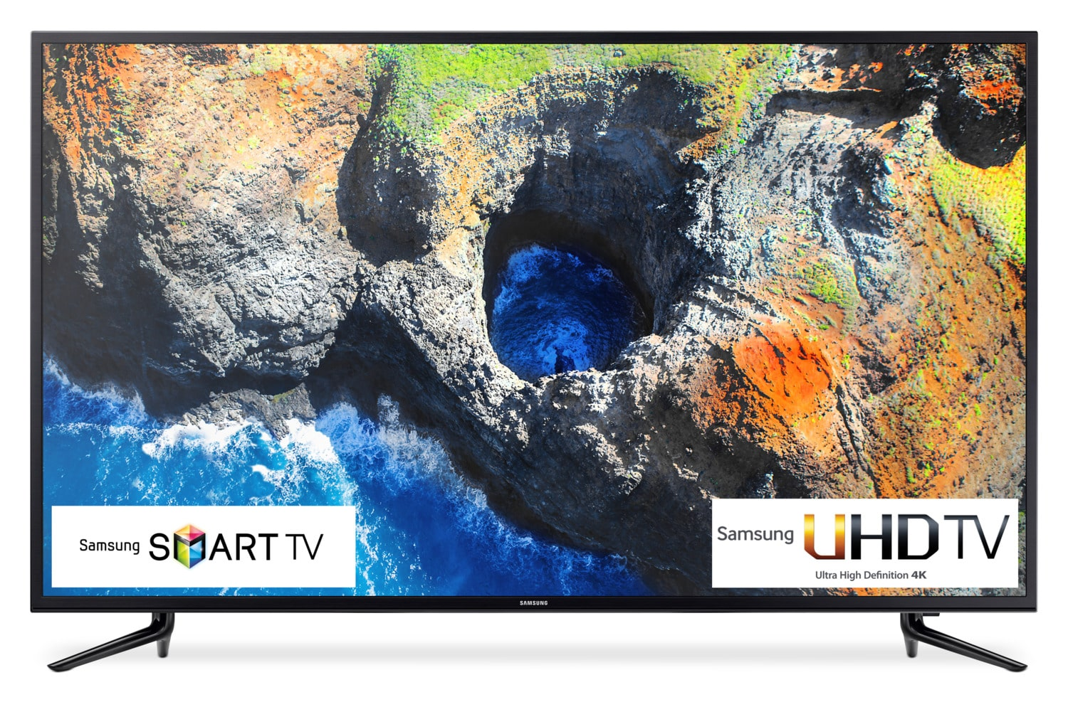 "Samsung 58"" 4K UHD Smart LED TV - UN58MU6100FXZC"