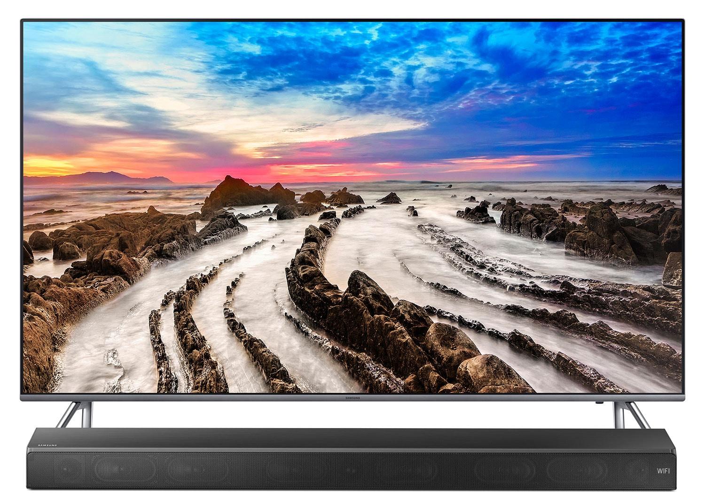 "Samsung 55"" MU8000 4K Smart Television and HW-M650 Soundbar Package"