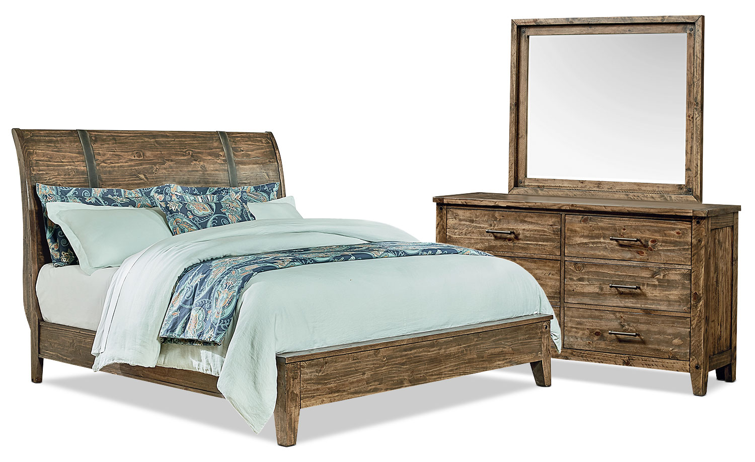 Nelson 5-Piece Queen Bedroom Package