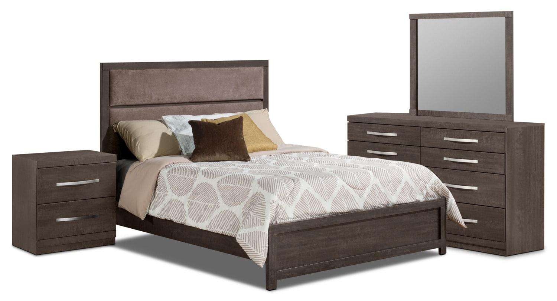 Bedroom Furniture - Willowdale King 6-Piece Bedroom Package