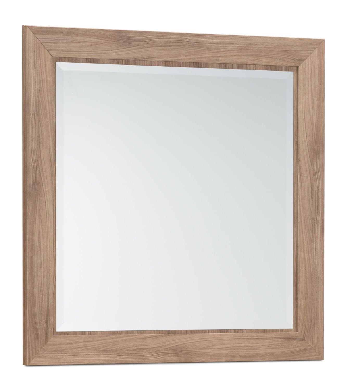 Chambre à coucher - Miroir Yorkdale - clair