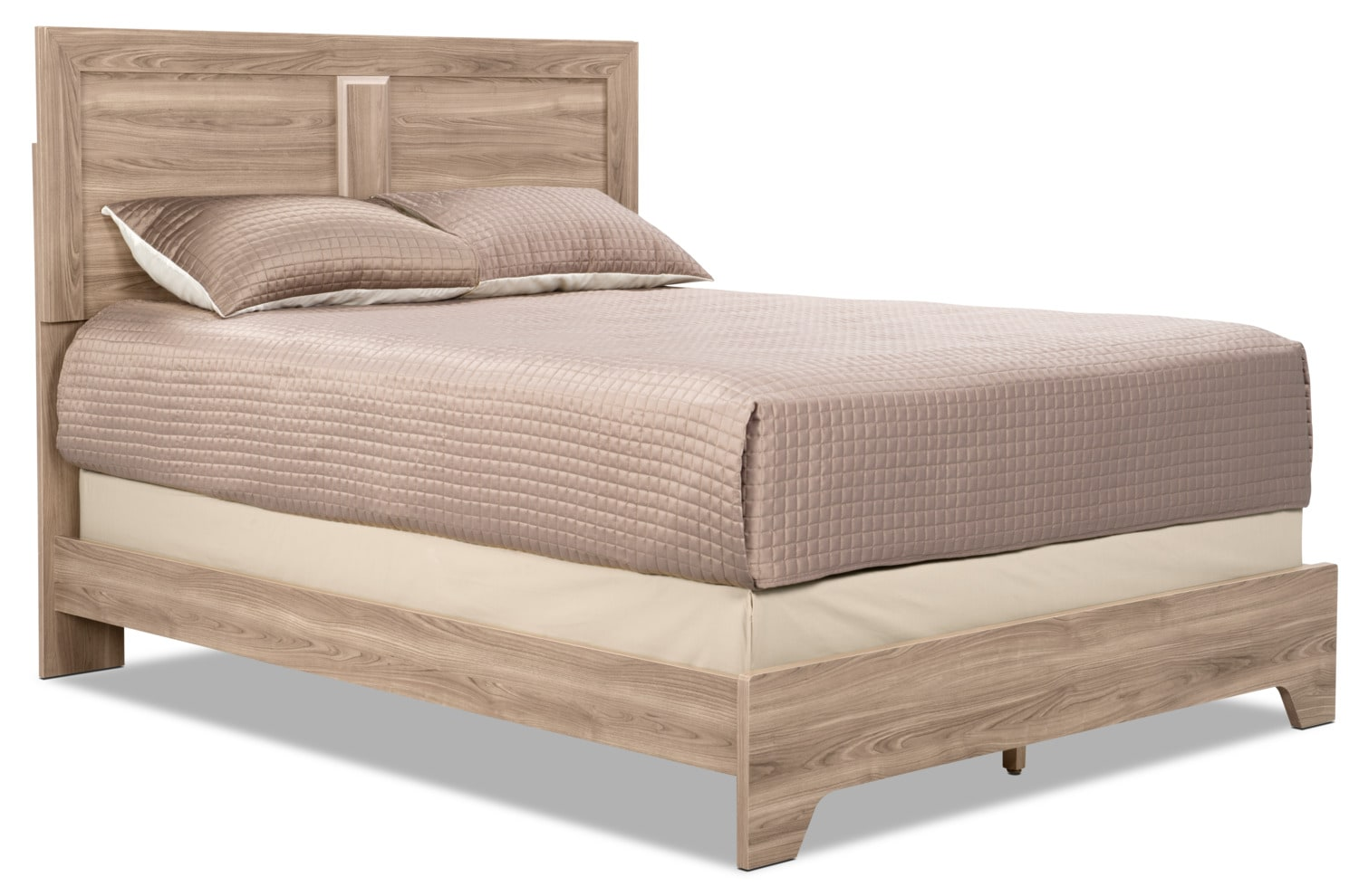 Yorkdale Light Queen Panel Bed