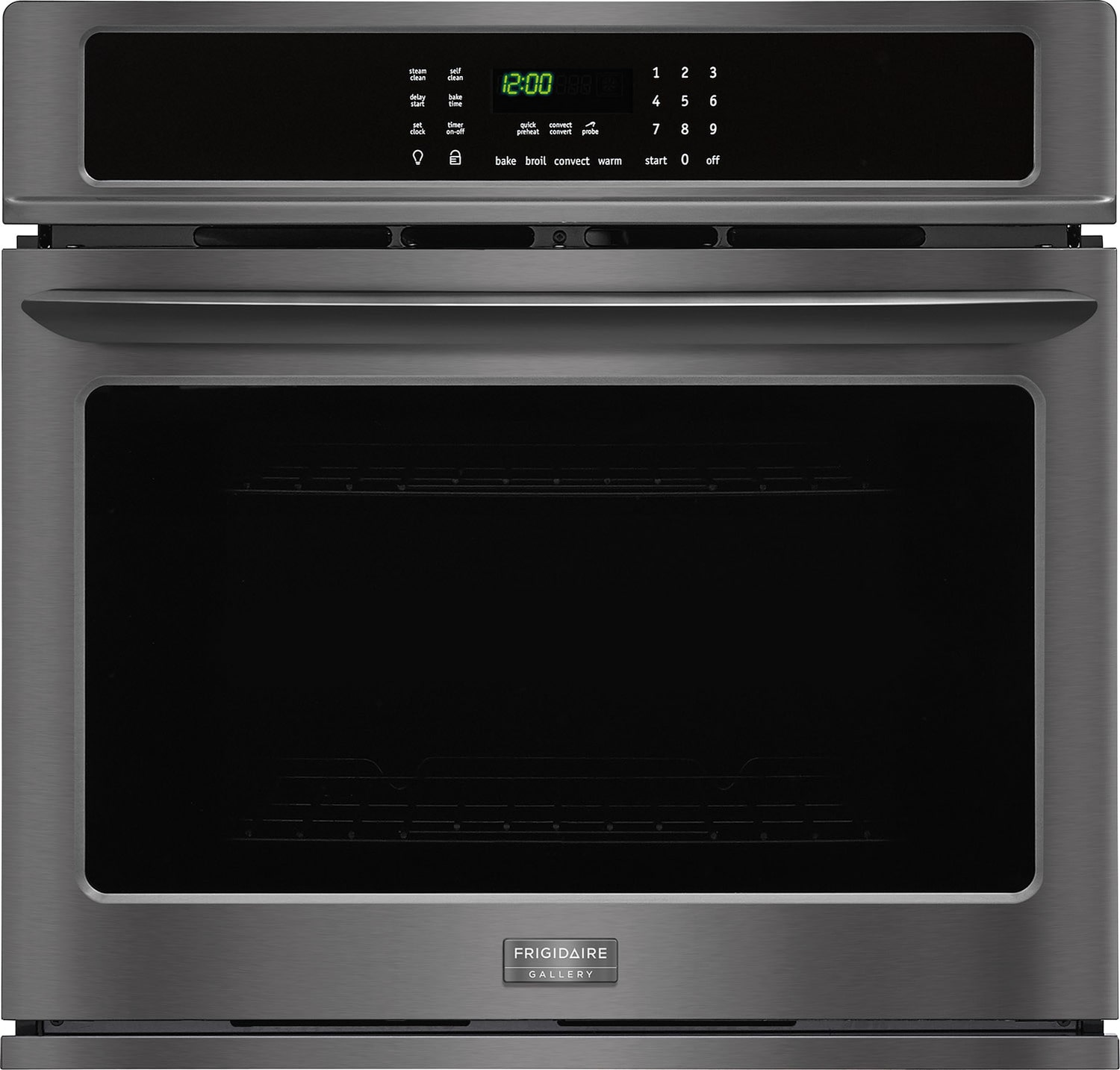 Frigidaire Gallery Black Stainless Steel True Convection Wall Oven (4.6 Cu. Ft.) - FGEW3065PD