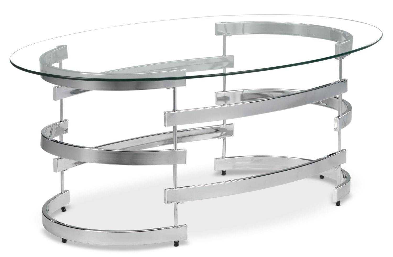 Oracle Coffee Table - Chrome