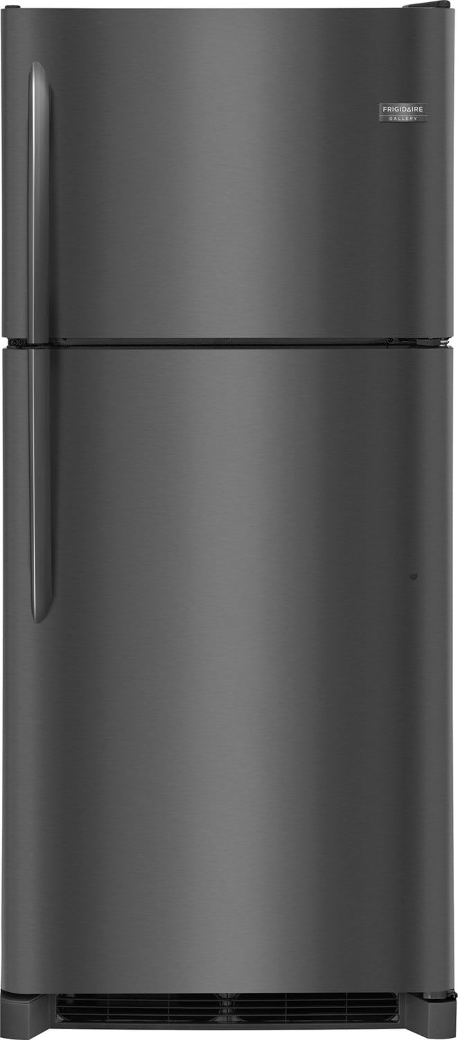 Frigidaire Gallery Black Stainless Steel Top-Freezer Refrigerator (20.4 Cu. Ft.) - FGTR2042TD
