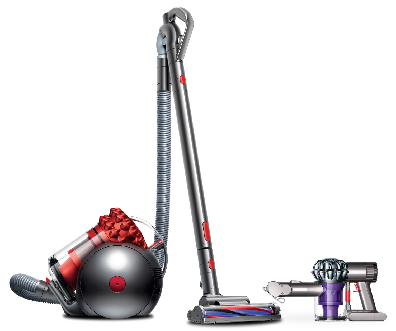 Dyson V6 Trigger Handheld Vacuum and Dyson Cinetic™ Big Ball™ Multi-Floor Vacuums