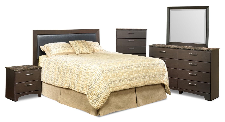 Bedroom Furniture - Oxford 5-Piece Queen Bedroom Package