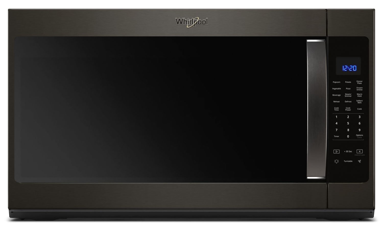 Whirlpool Black Stainless Steel Over-the-Range Microwave (2.1 Cu. Ft.) - YWMH53521HV