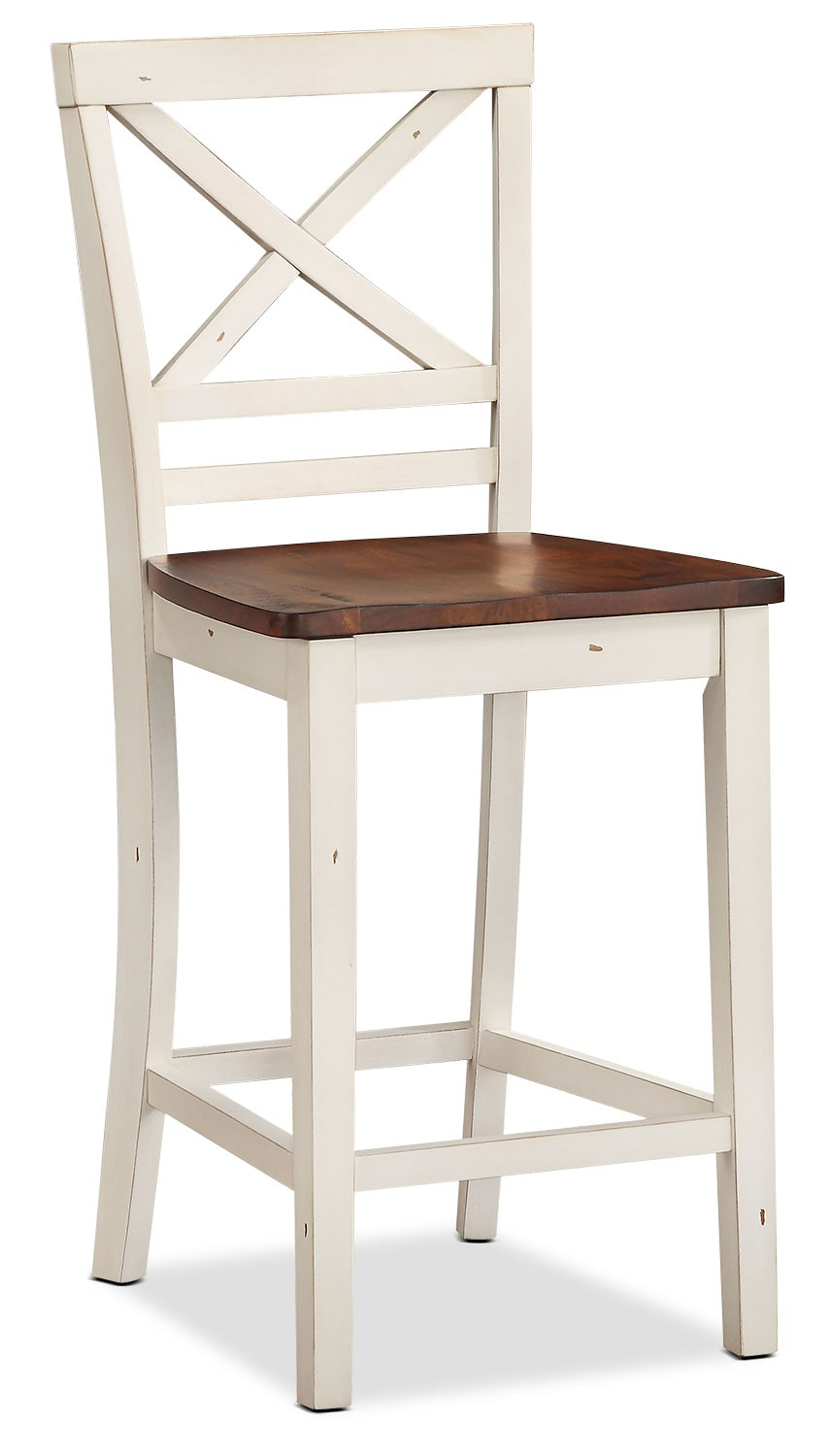 Amelia Counter-Height Dining Chair – White
