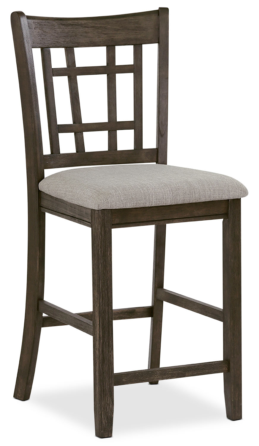 Desi Counter-Height Dining Chair – Brown