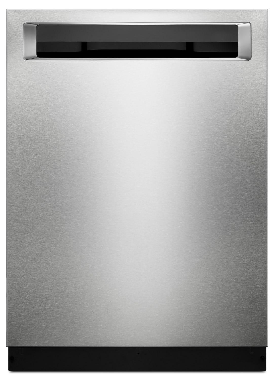 "KitchenAid 24 "" Dishwasher with Third Level Rack and PrintShield™ Finish – KDPE234GBS"