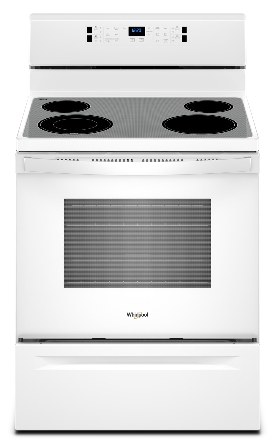 Whirlpool White Freestanding Electric Range (5.3 Cu. Ft.) - YWFE520S0FW