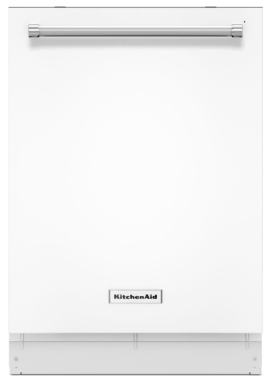 """KitchenAid White 24"""" Dishwasher – KDTE234GWH"""