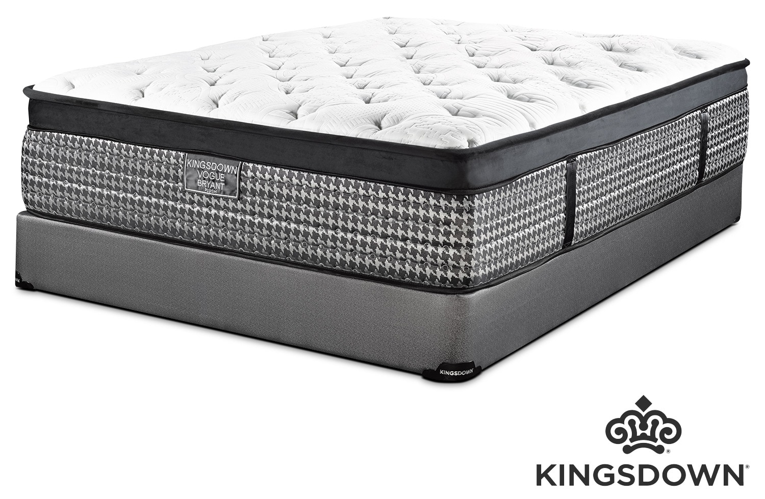 Kingsdown Bryant Plush Twin Mattress and Boxspring Set