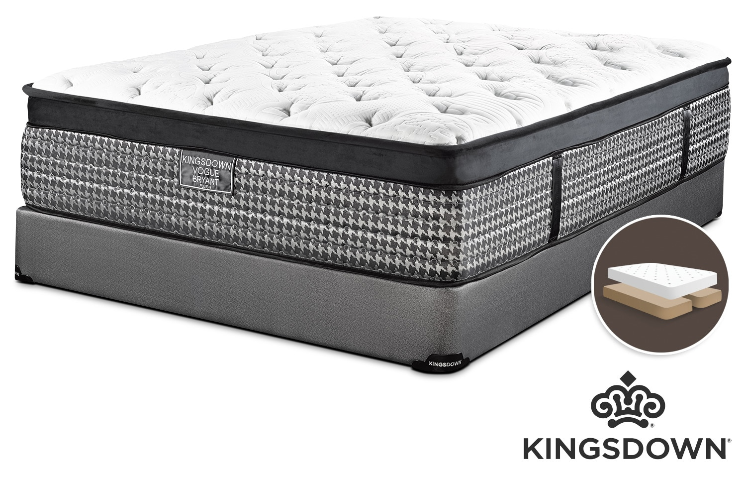 Kingsdown mattress leon 39 s Mattress king