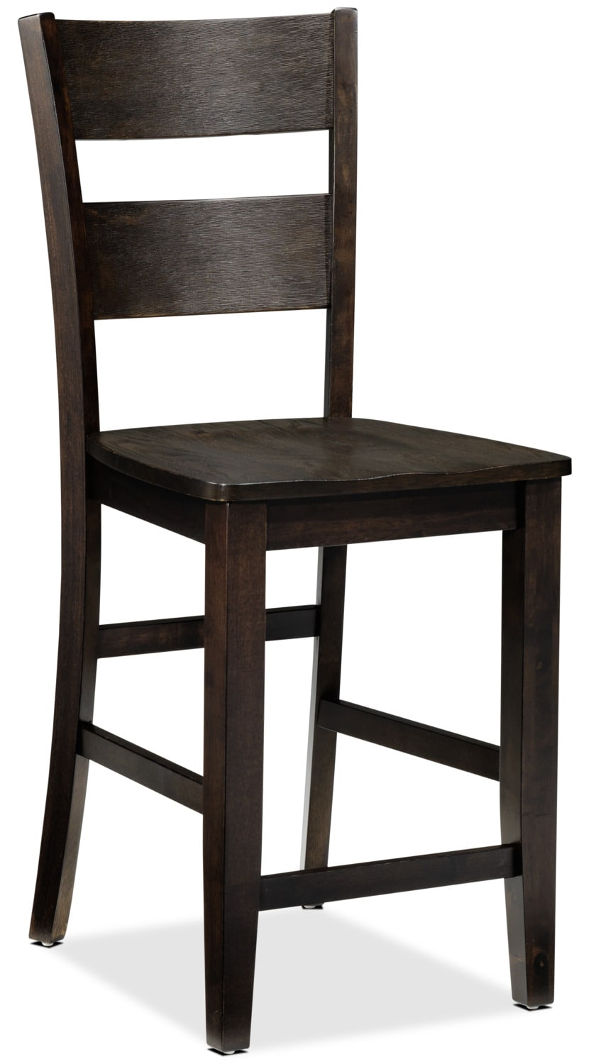 Jerry Pub Chair - Rustic Brown