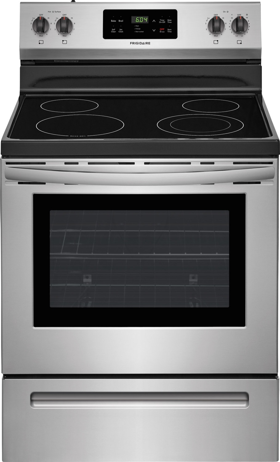Frigidaire Stainless Steel Freestanding Electric Range (5.3 Cu. Ft.) - CFEF3055TS