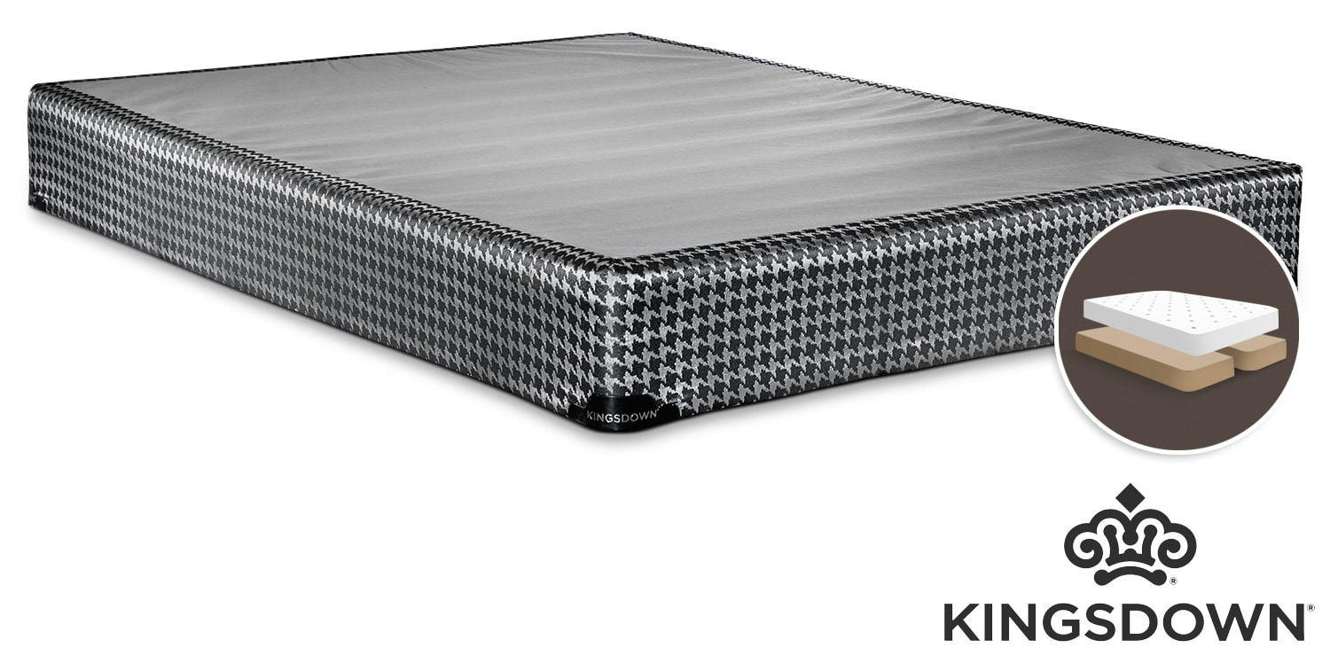 Mattresses and Bedding - Kingsdown Oxygen King Split Boxspring