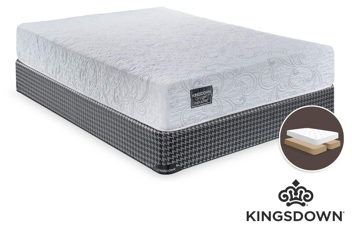 Kingsdown Celestial King Mattress/Boxspring Set