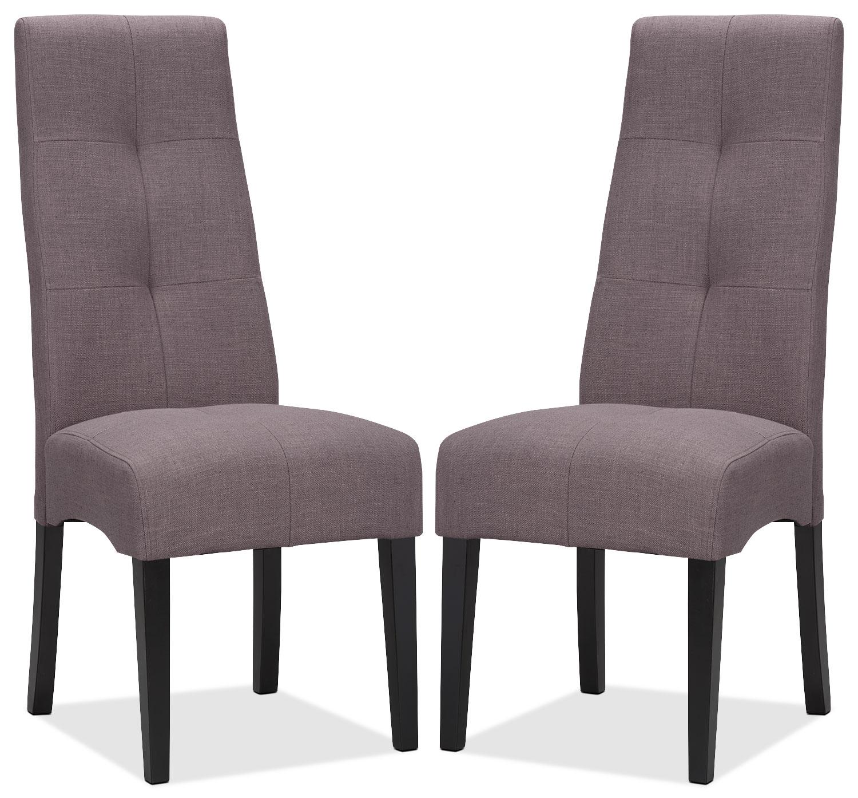 Sadie Grey Dining Chair – Set of 2