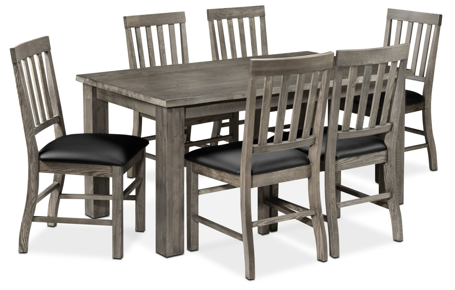 Ronin  Piece Dining Room Set Charcoal