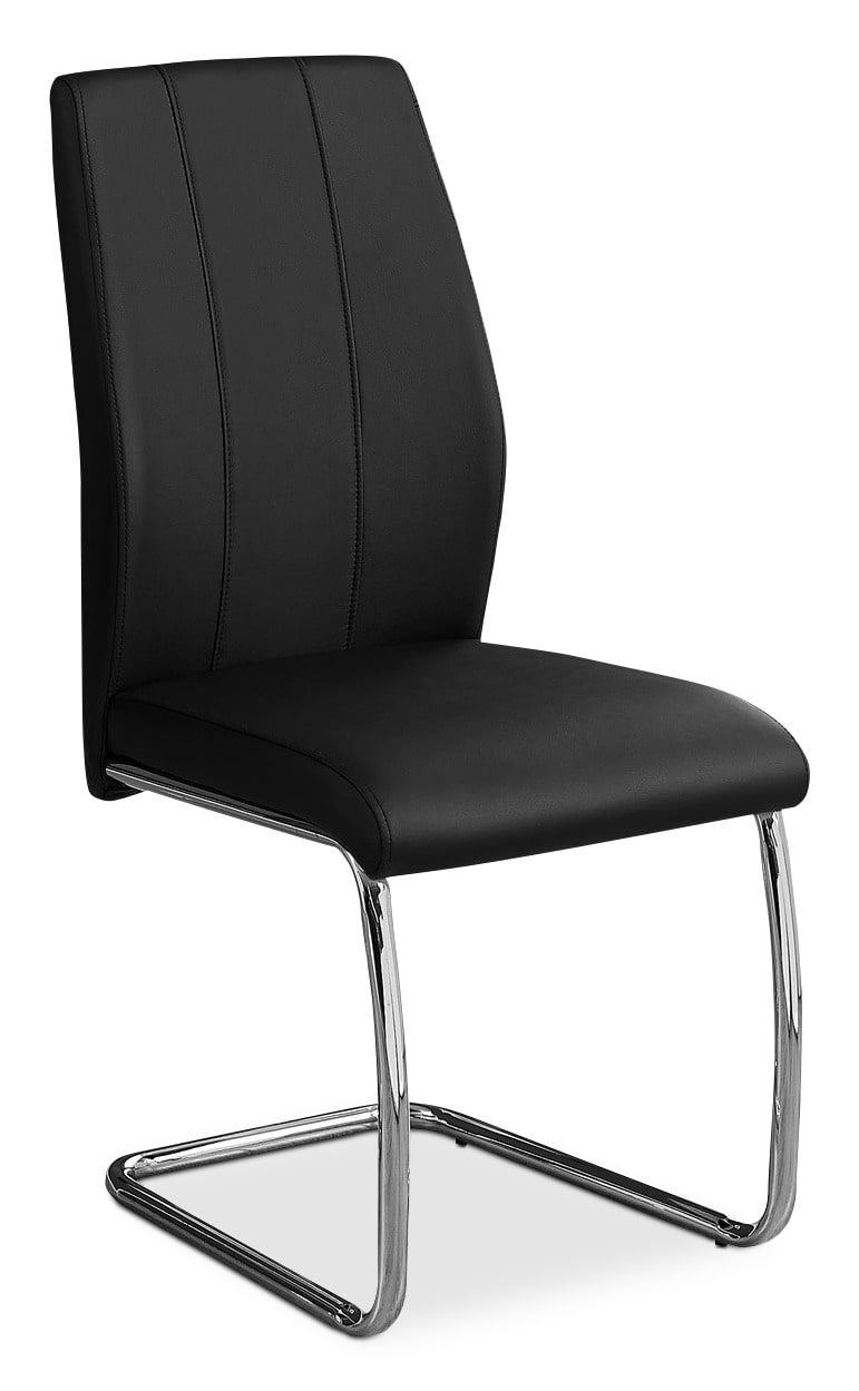 Luca Dining Chair – Black