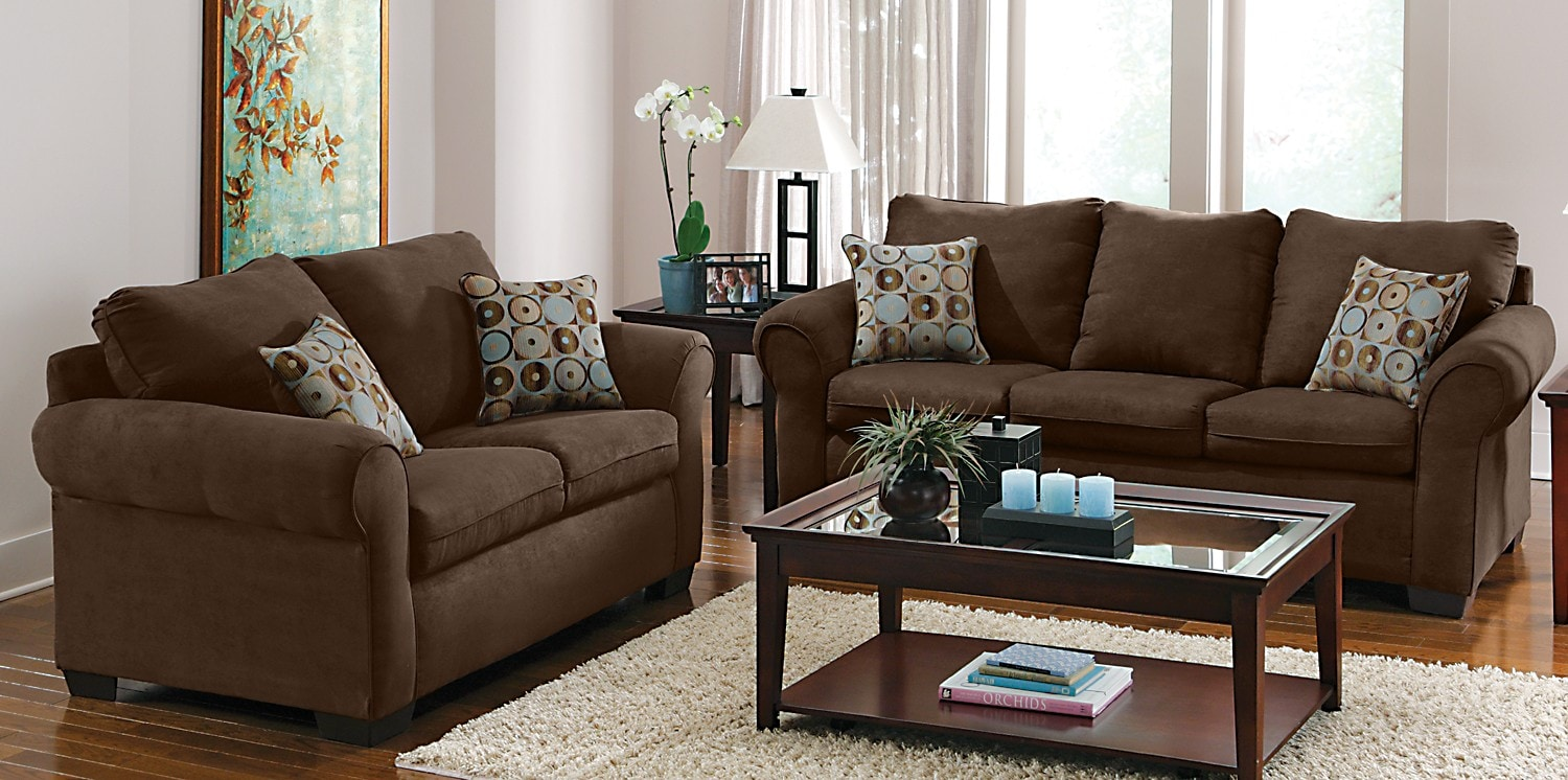 2 piece living room set on Mystic Iii 2 Piece Living Room Set