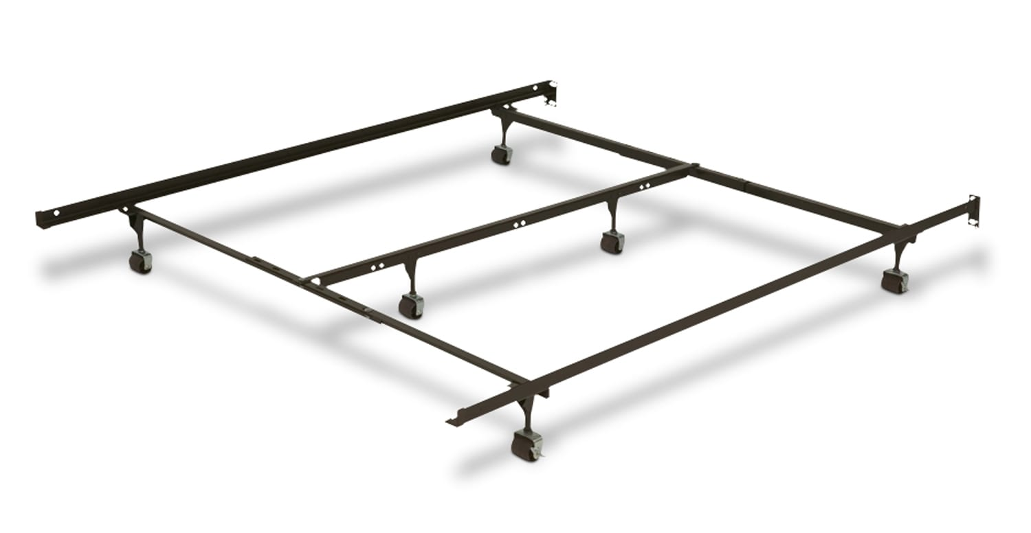 Adjustable Roller Full/Queen/King Bed Frame