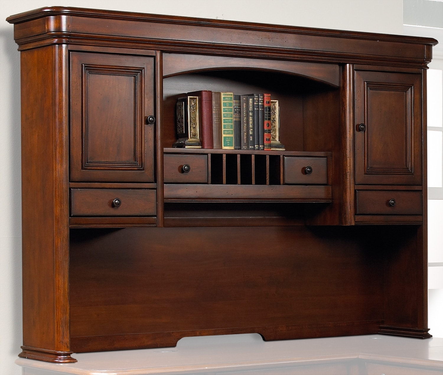 Home Office Furniture - Villa Toscana Hutch - Brown Cherry