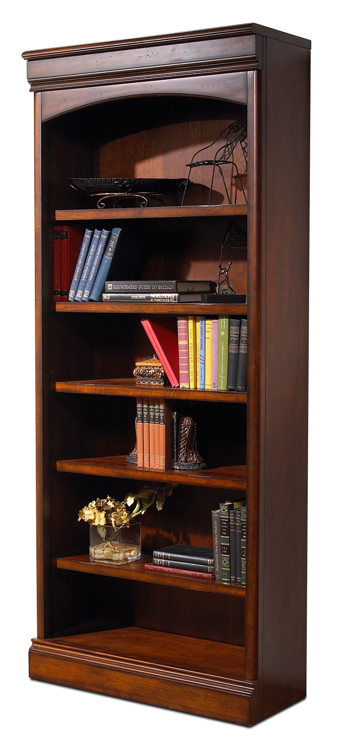 Villa Toscana Open Bookcase - Brown Cherry