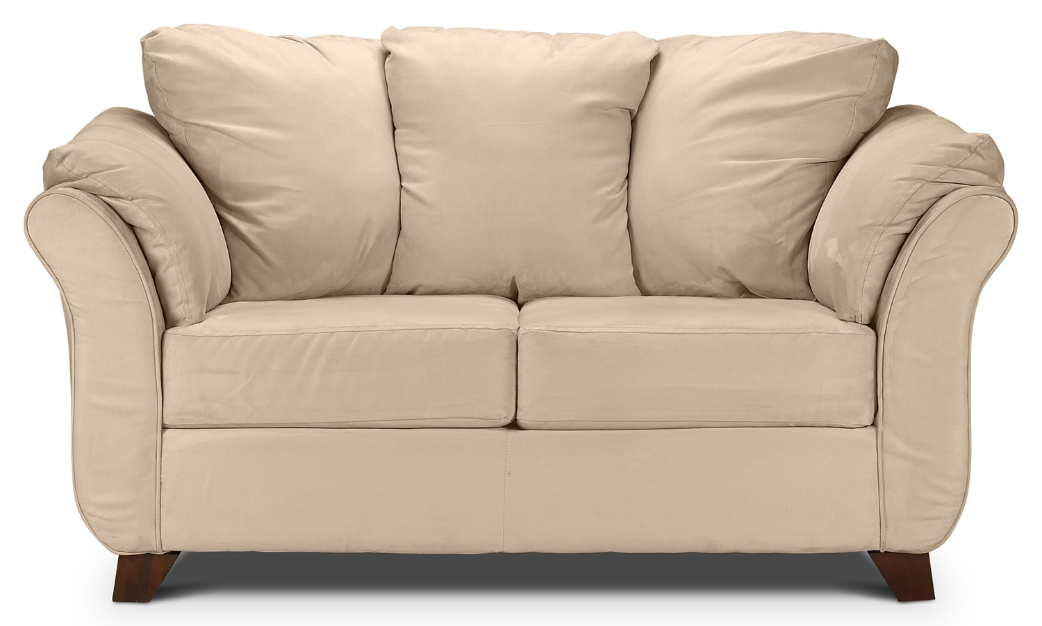 Living Room Furniture - Collier Loveseat - Beige