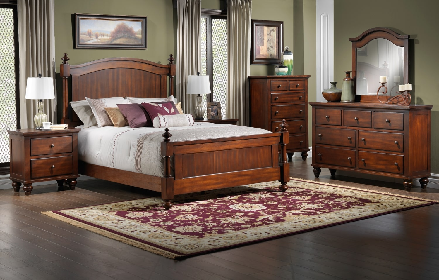 Palisade Bedroom Collection Leon S Palisade Bedroom Collection